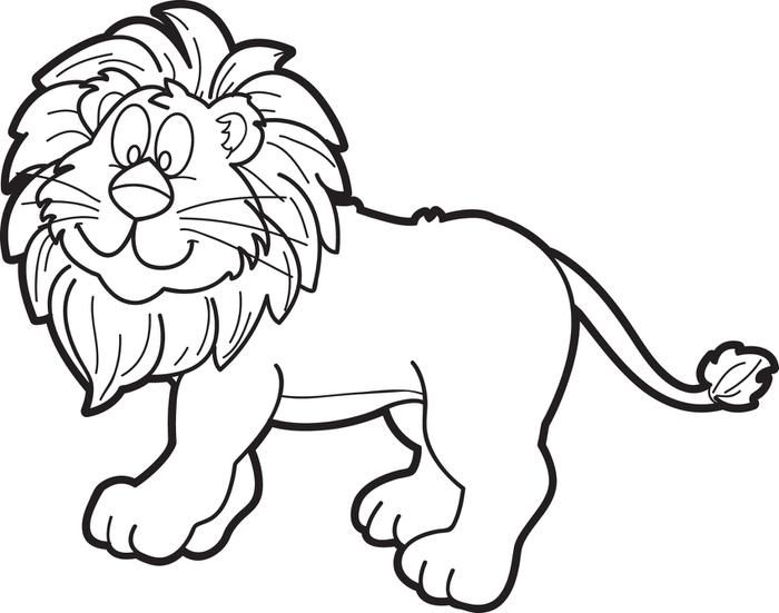 L clipart lion drawing. Best images on