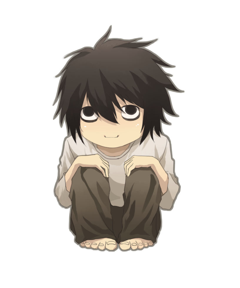 L death note png. By sonatines on deviantart