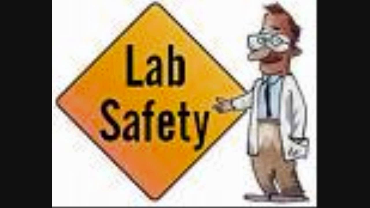 Safe clipart lab safety. Music video youtube