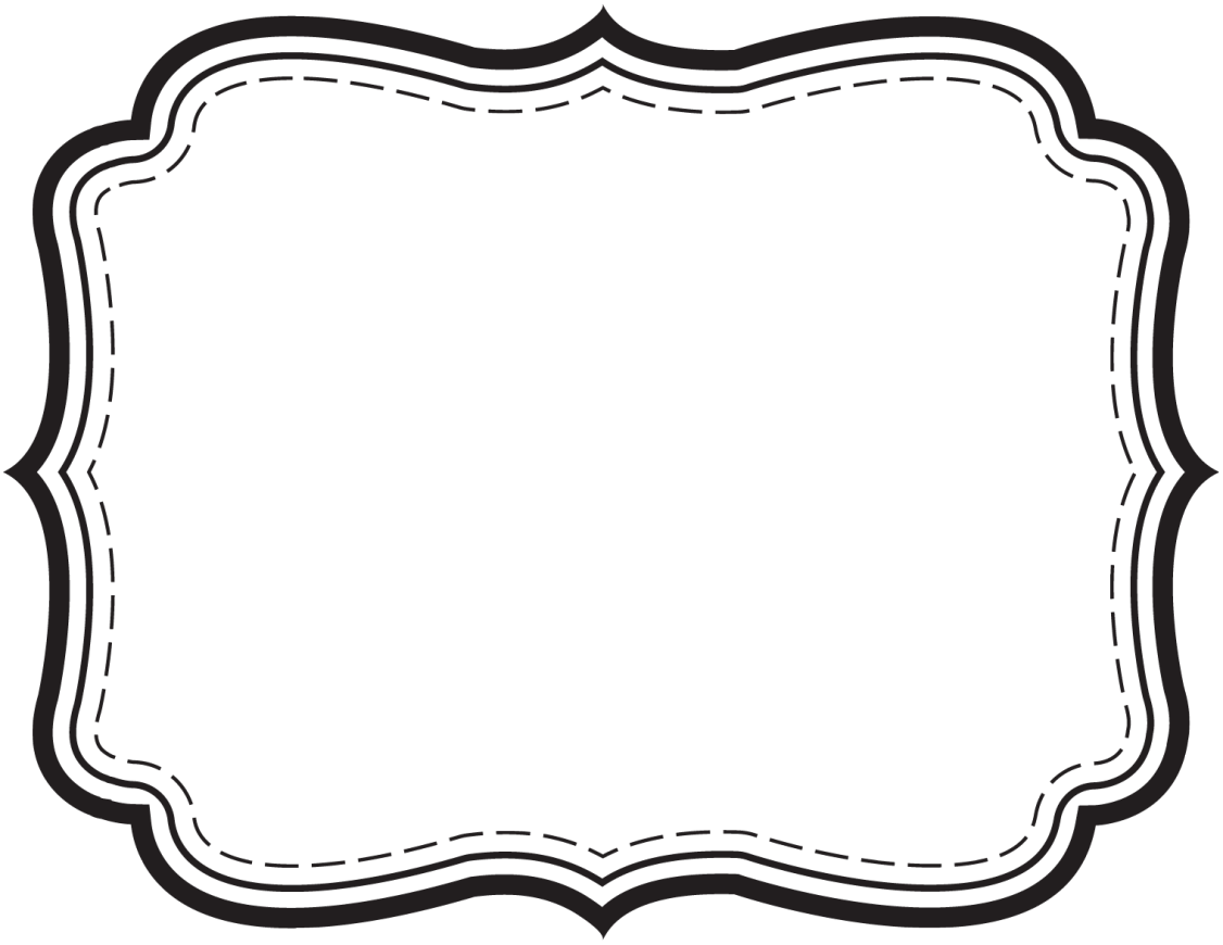 Label border png. Simple clip art spring