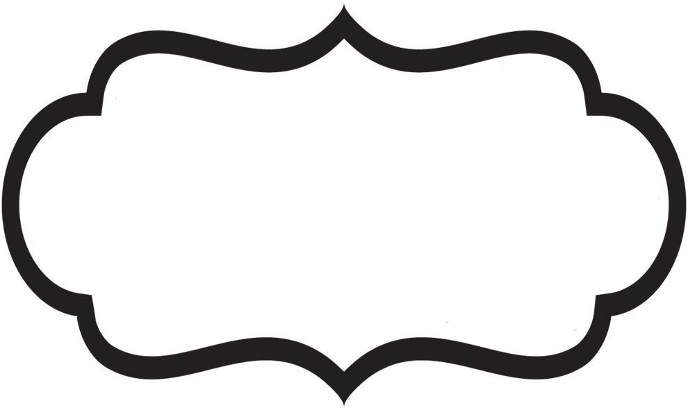 Label clipart bracket. Shape templates world of