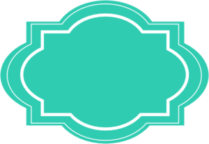 Label clipart turquoise. Decorative clip art at