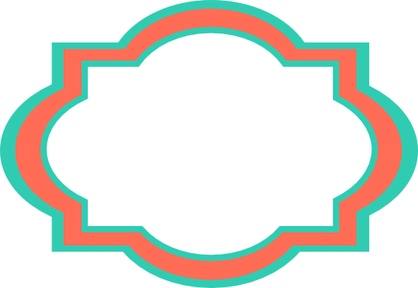 Label clipart turquoise. Fancy clip art library