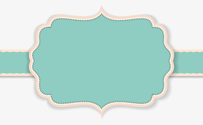 Label clipart turquoise. Green concise simple png