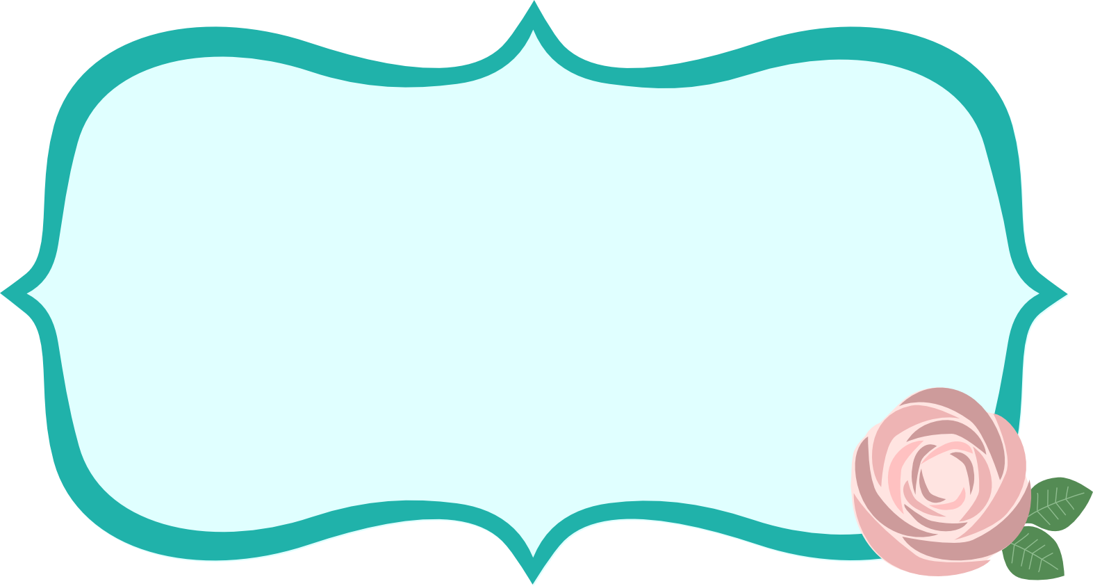 Label clipart turquoise. Images of fancy