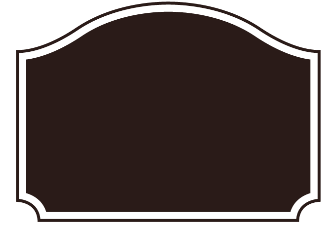Label png. Frame no curved roof