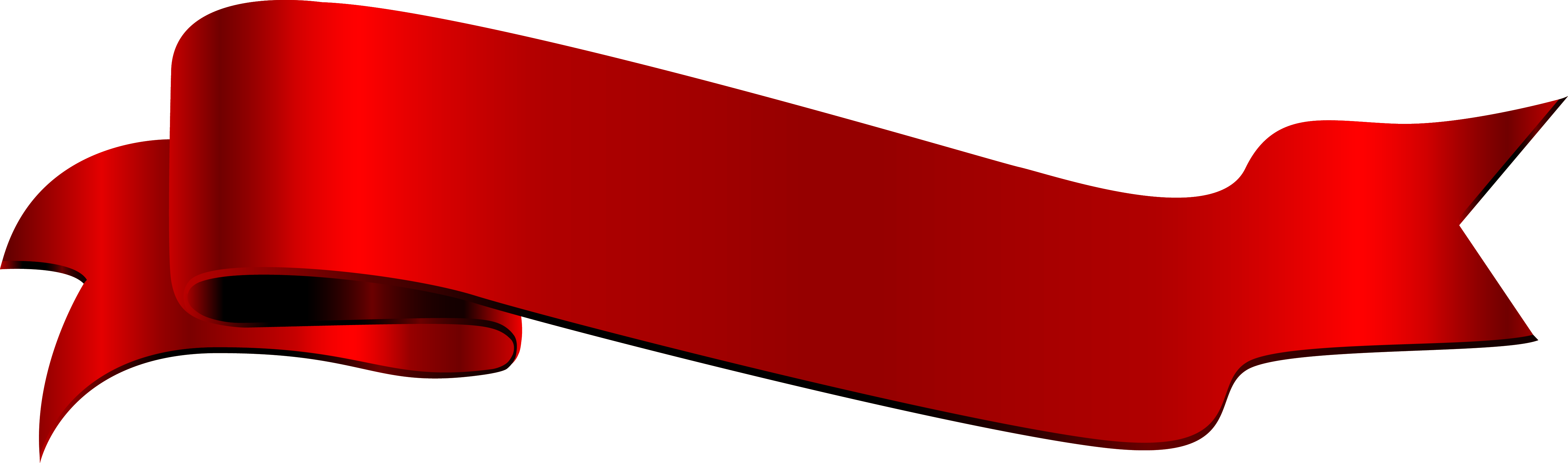 Red ribbon png. Angle font label transprent