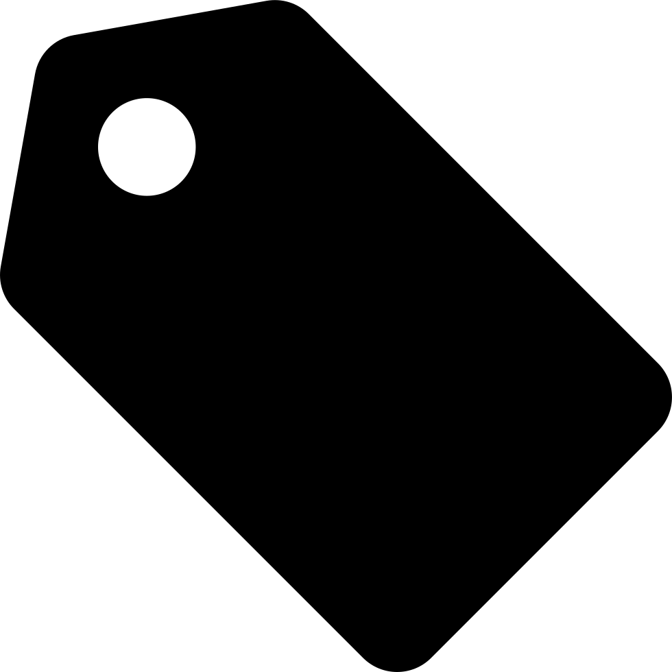 Label shapes png. Black shape rotated to