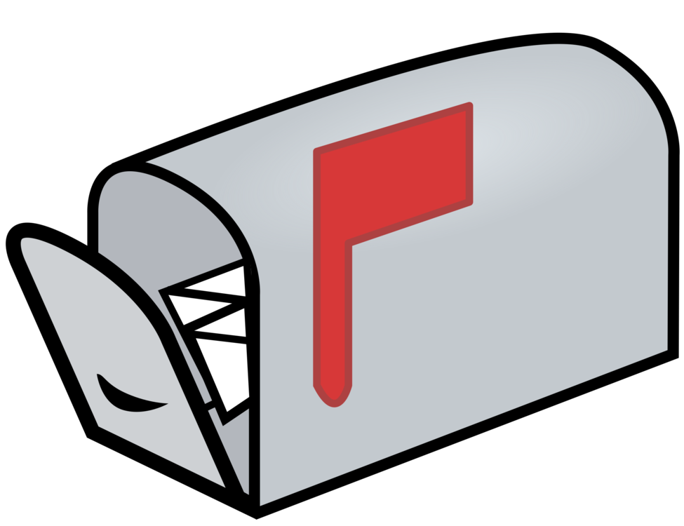 Labels clip office mailbox. Letter box email drawing
