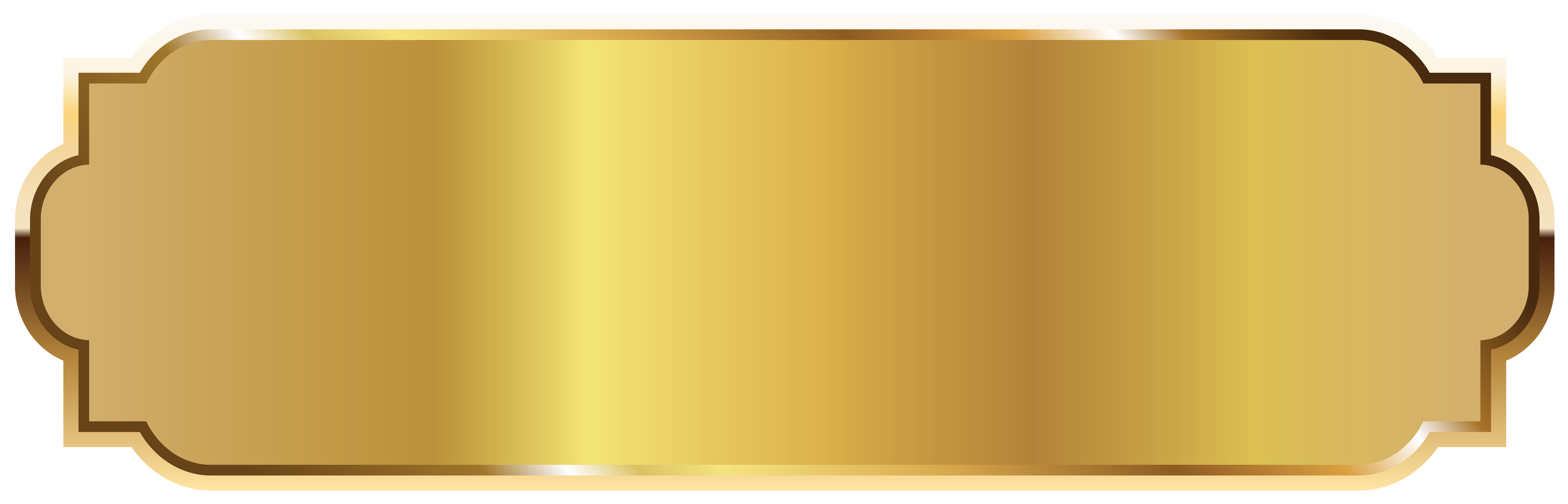 Gold png. Label template picture gallery