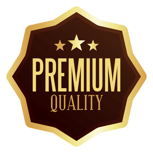 Premium badge transparent svg. Vector quality png free library