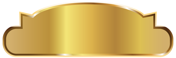 Metallic vector gold background. Label template png clipart