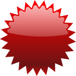 Labels vector sticker label. Red star price