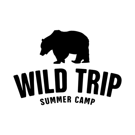 Labels vector summer. Wild trip travel label