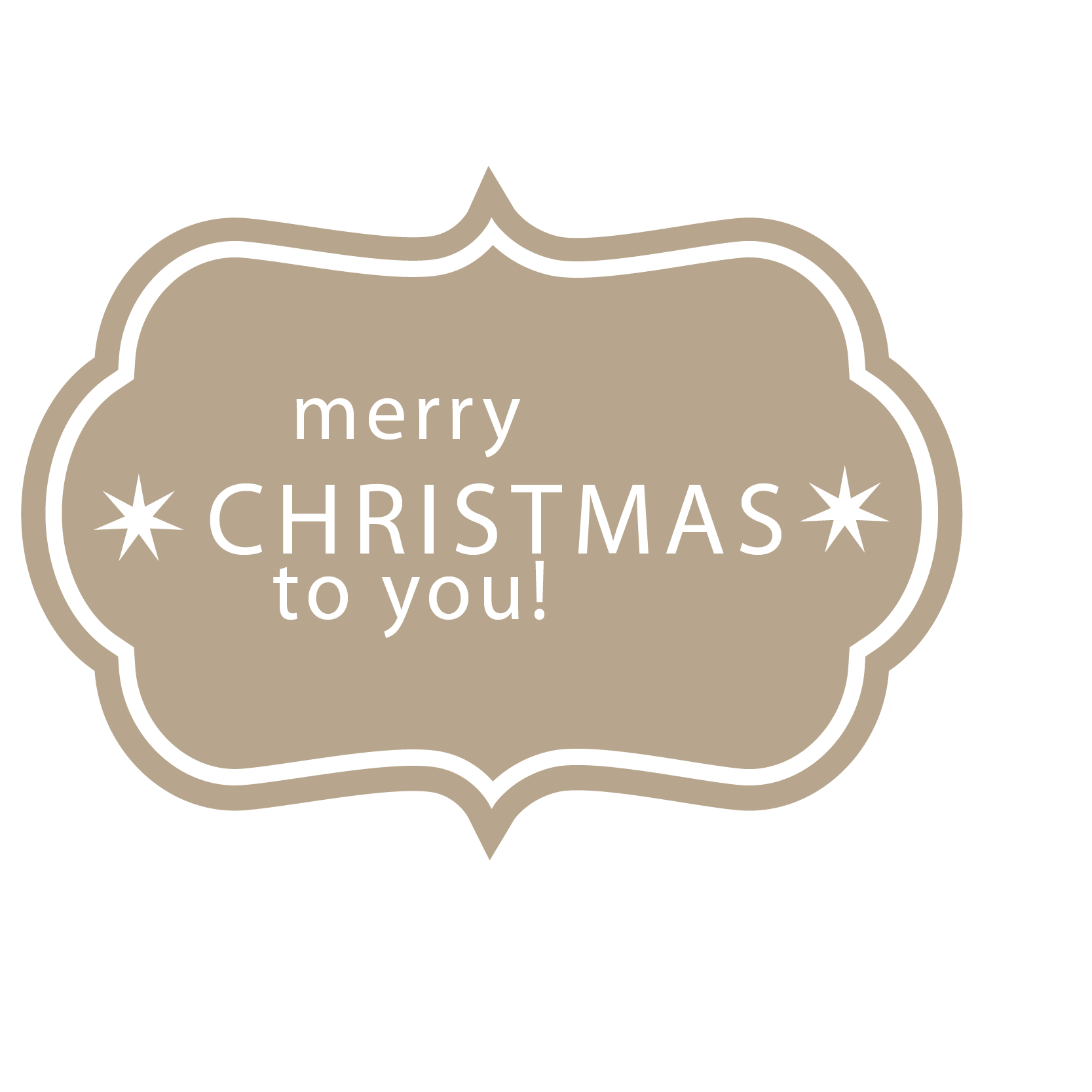 Labels vector text label. Euclidean icon small christmas
