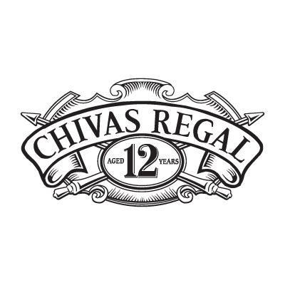 Typography vector quality. Chivas regal logo free