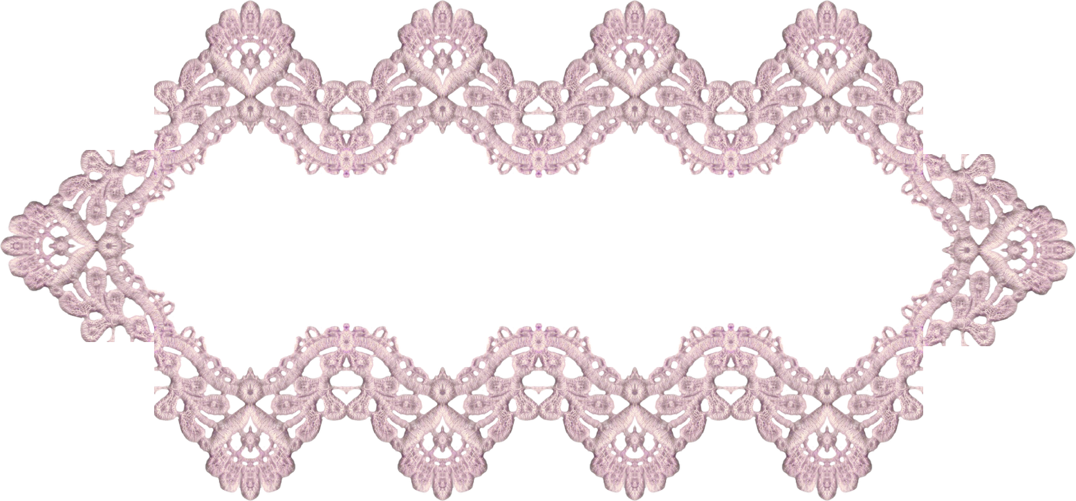 Lace banner png. Victorian lavender digital elements