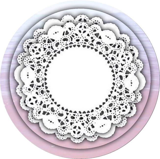 Lace circle png. Icon new pastel tumblr