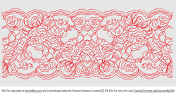 Lace clipart. Free and vector graphics