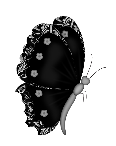 Lace clipart fan. Black butterfly png butterflies