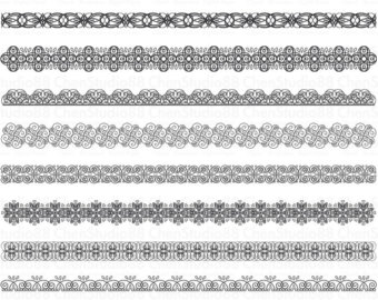 Lace clipart grey lace. Digital border gold scrapbook