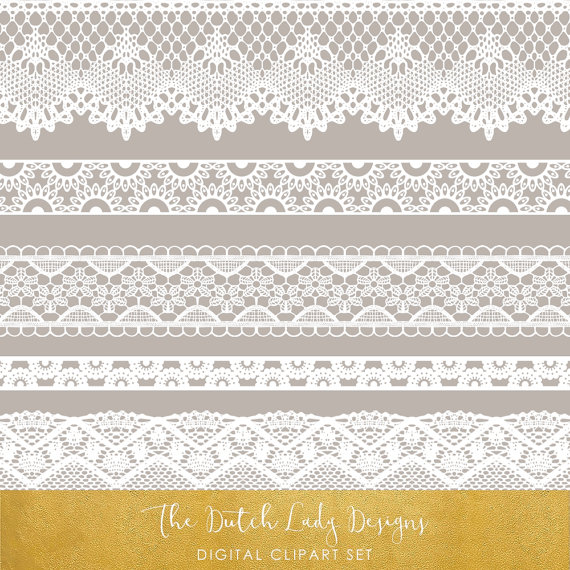 lace clipart grey lace