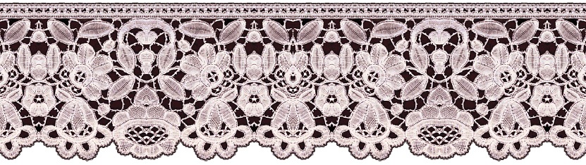 Lace clipart lace print. Artbyjean images of borders