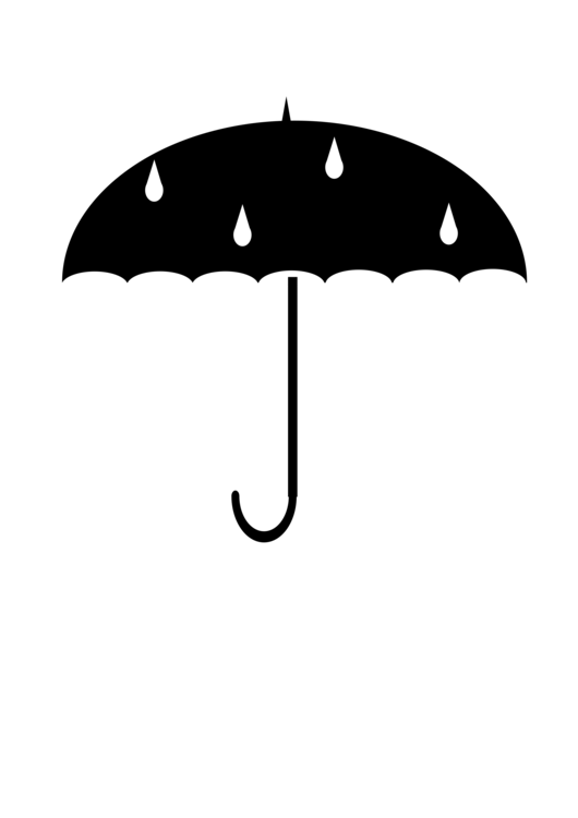 Umbrella clipart umbrellablack. Computer icons download paper
