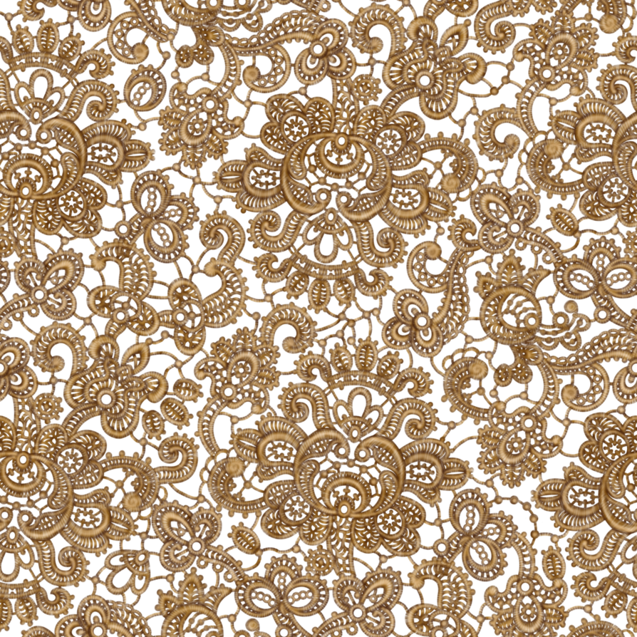 Lace design png. Seamless gold by yagellonica