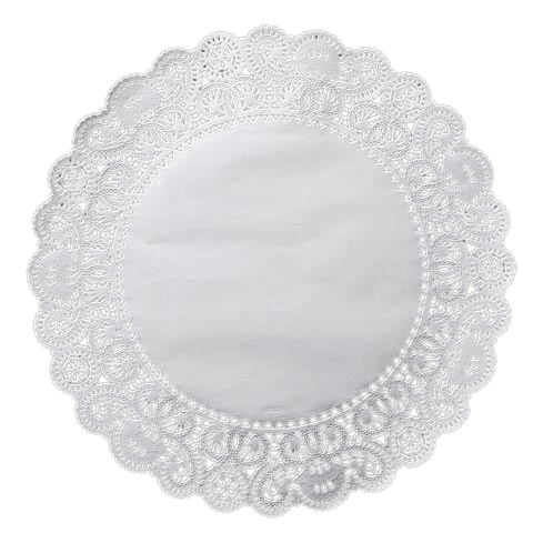 doily transparent lacy