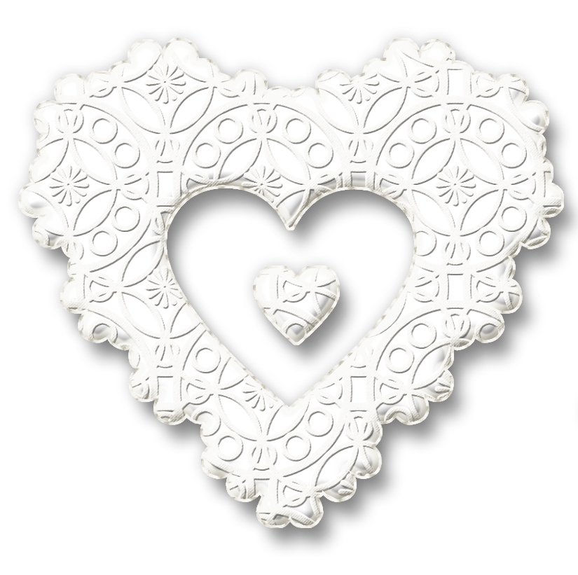 Lace heart png. Karenphoto white by on
