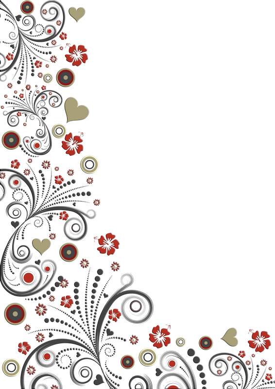 Lace pattern vector png. Bordures coins tubes background