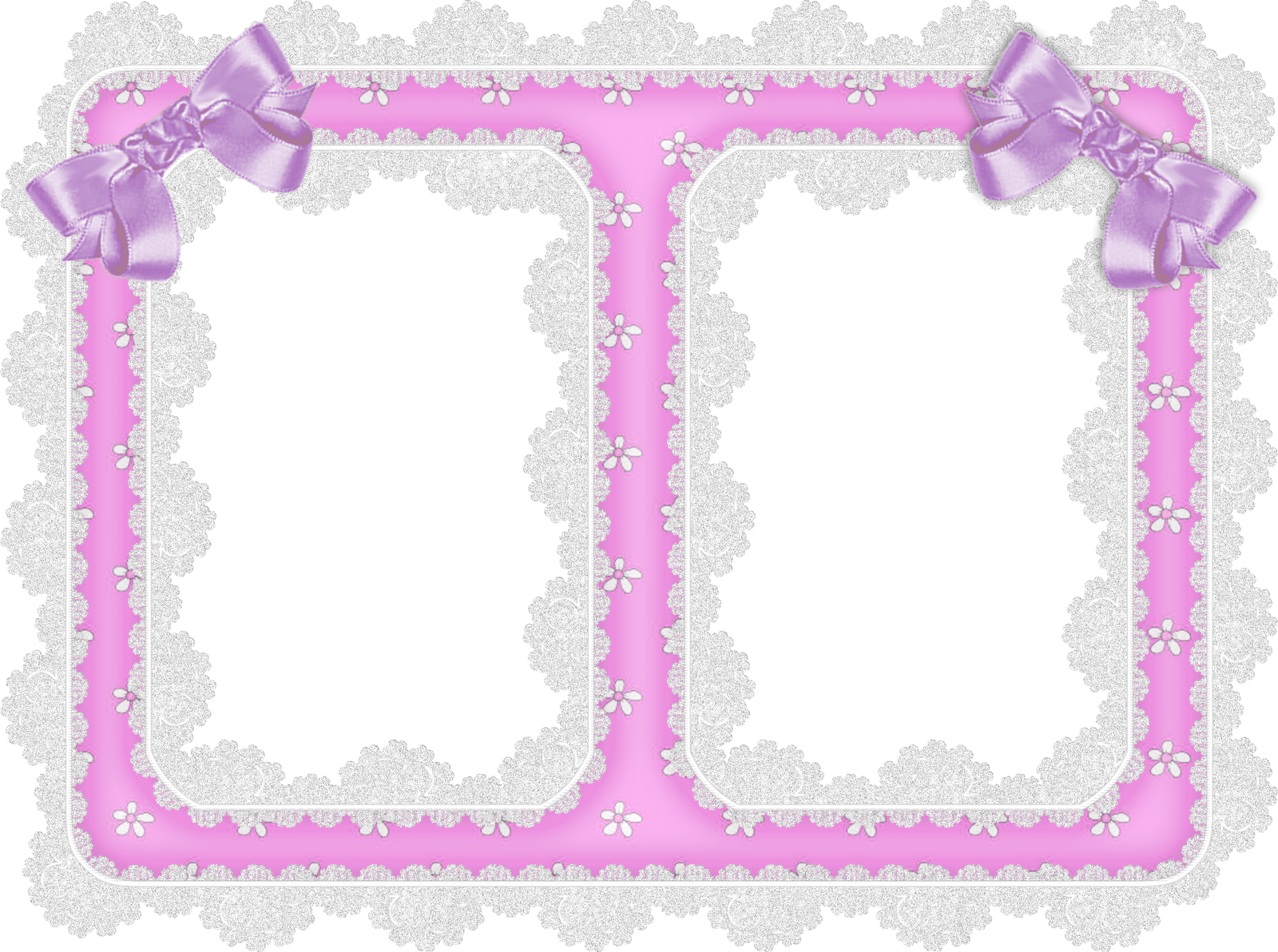 Lace ribbon png. White and purple transparent