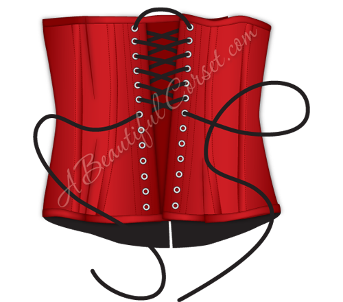 Laces clipart corset lace. How to properly