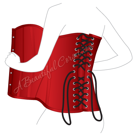 Laces clipart corset lace. How to properly wear
