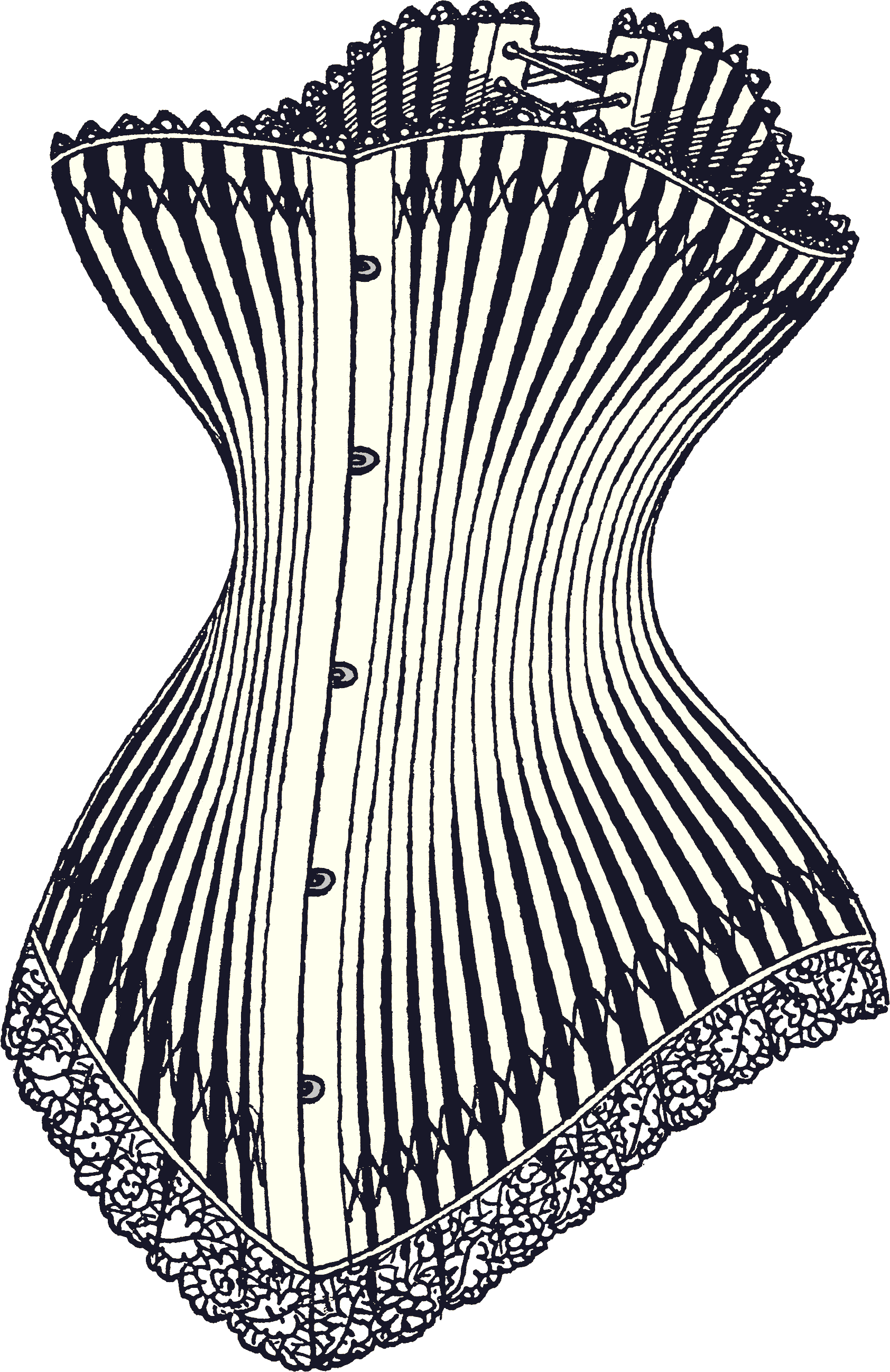 Laces clipart corset lace. Bustier can boost your