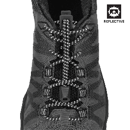 Laces clipart grey lace. Reflective run nathan sports