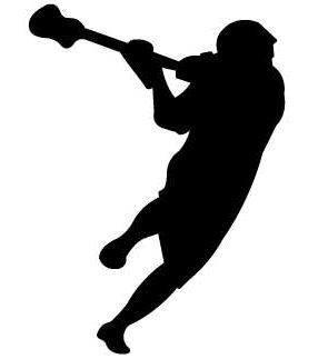 Lacrosse clipart boys lacrosse. Silhouette at getdrawings com