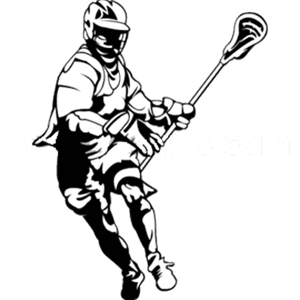 Lacrosse clipart small. Silhouette at getdrawings com