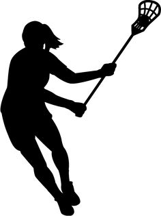 Lacrosse clipart womens lacrosse sticks. Silhouette at getdrawings com