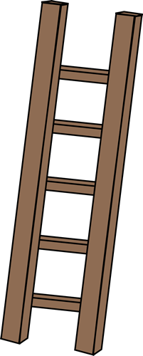 Ladder clipart outline. Free cliparts download clip