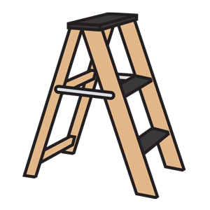 Ladder clipart. Png step icon with