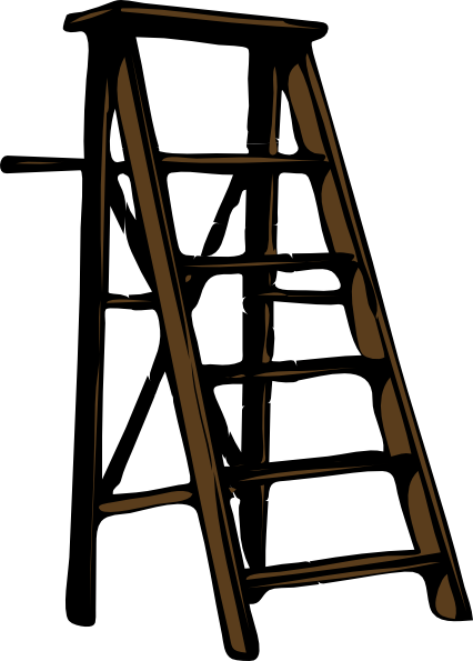 Ladder clipart. Clip art at clker