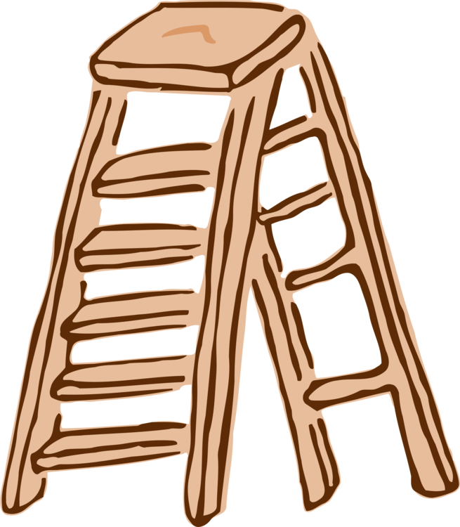 Ladder clipart staircase. Computer icons download drawing