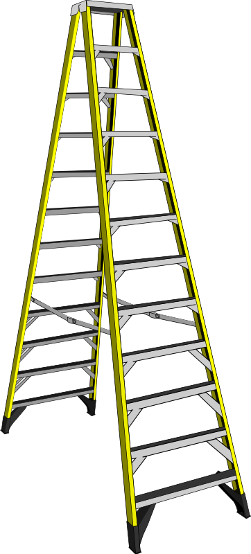 Ladder clipart long object. Free jacob s cliparts
