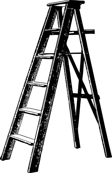 Ladder clipart long object. Free download vector