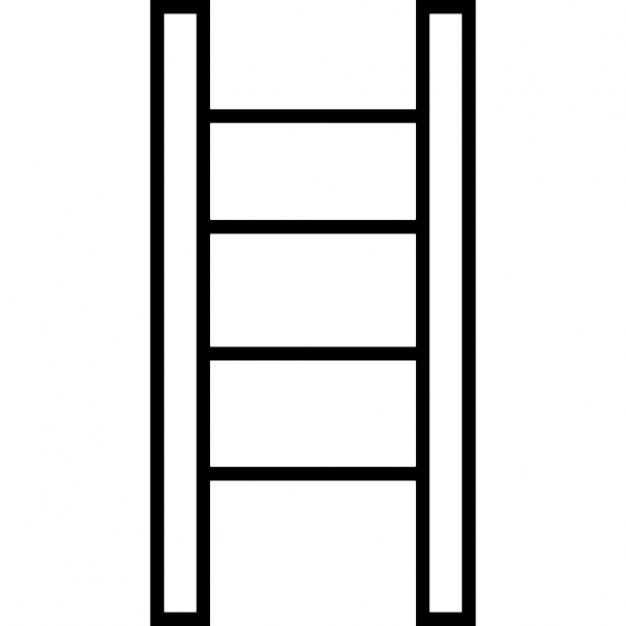Ladder clipart outline. Icons free download icon