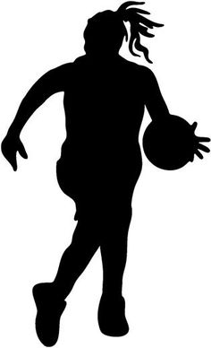 Lady clipart basketball player. Girl panda free images