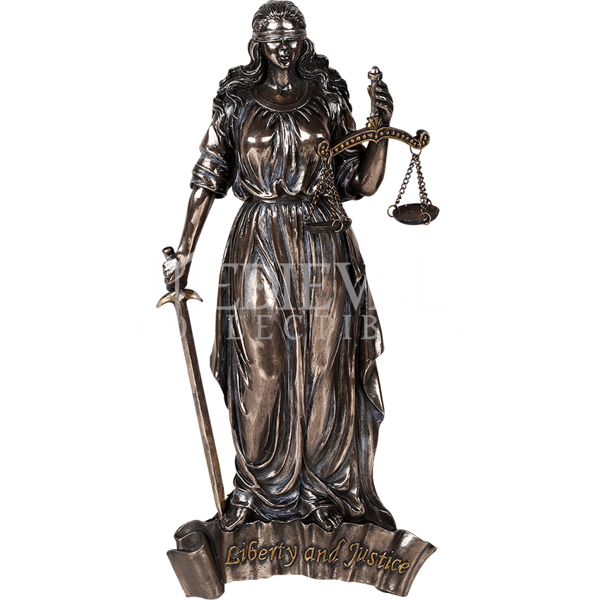 Lady justice statue png. Wall plaque cc by