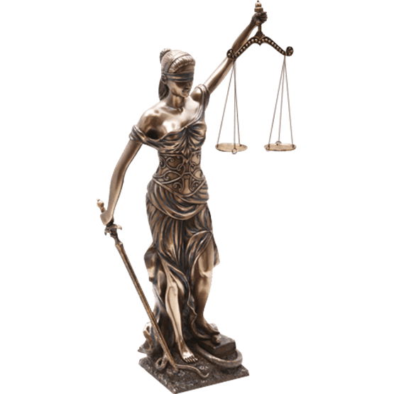 Lady justice statue png